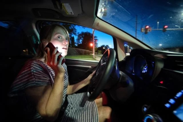 Distracted driving: Half of Parents Use Cellphones While Driving with Young Children in the Car