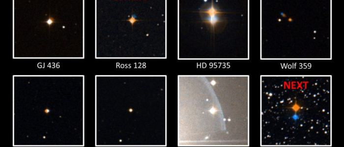 Strange Signals from the Nearby Red Dwarf Star Ross 128