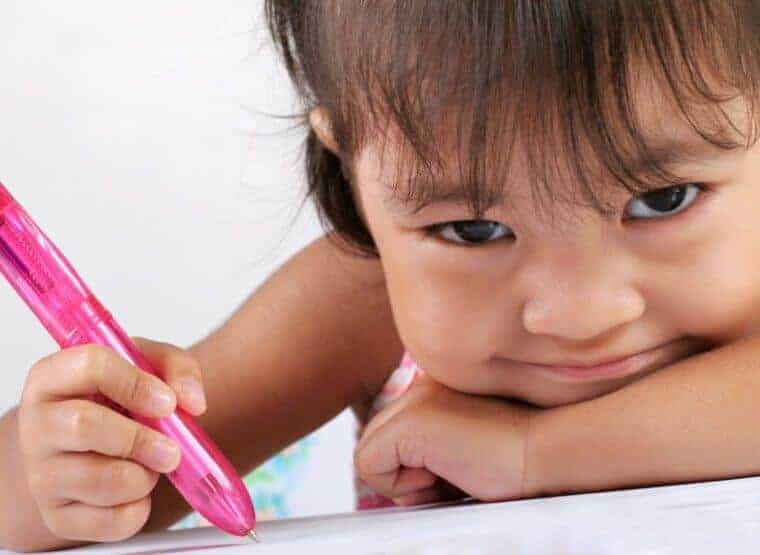 Teaching Children to Write Begins as Early as Age Three