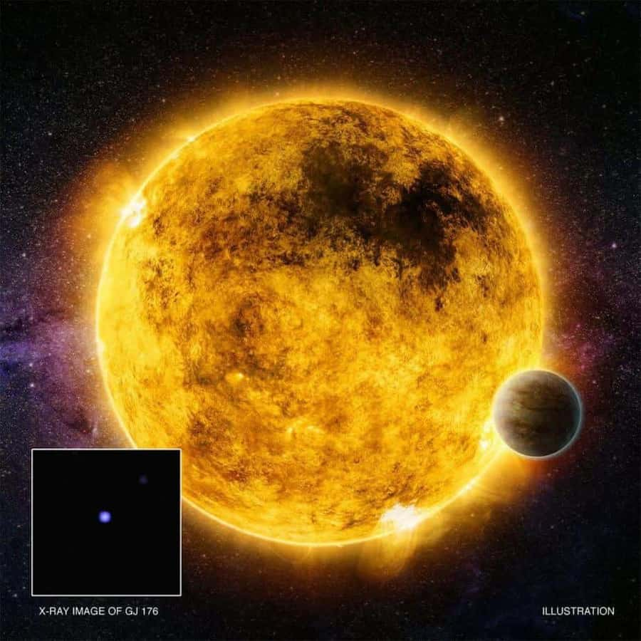 X-rays reveal temperament of possible planet-hosting stars
