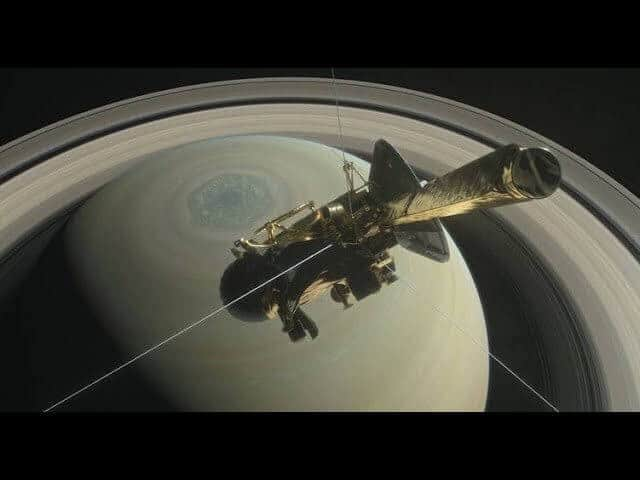 Cassini probe plummets into Saturn's atmosphere after 20 years and 4.9 billion miles
