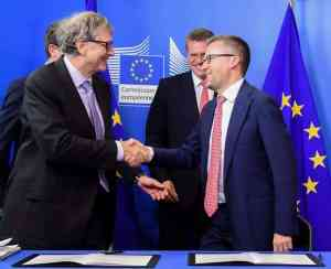 Bill Gates and European Commission launch €100 million clean energy fund