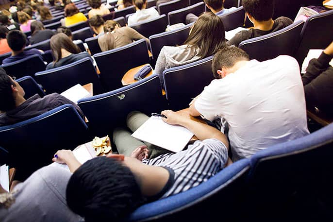 Anxiety 'epidemic' brewing on college campuses