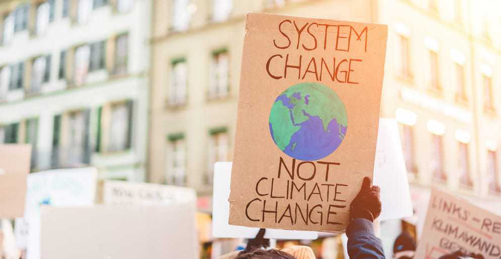Marching for climate change may sway people's beliefs and actions