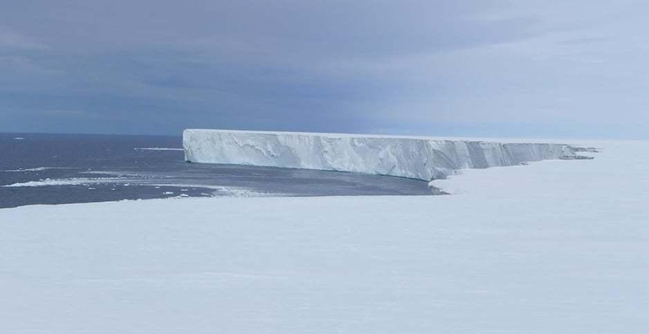 Abundance of plastic built up in Arctic's Northwest Passage sea ice