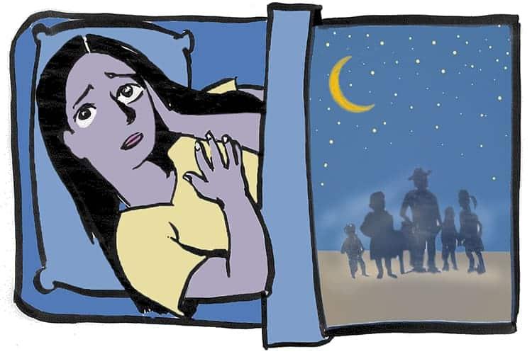 Deportation worries fuel anxiety, poor sleep, among U.S.-born Latina/o youth