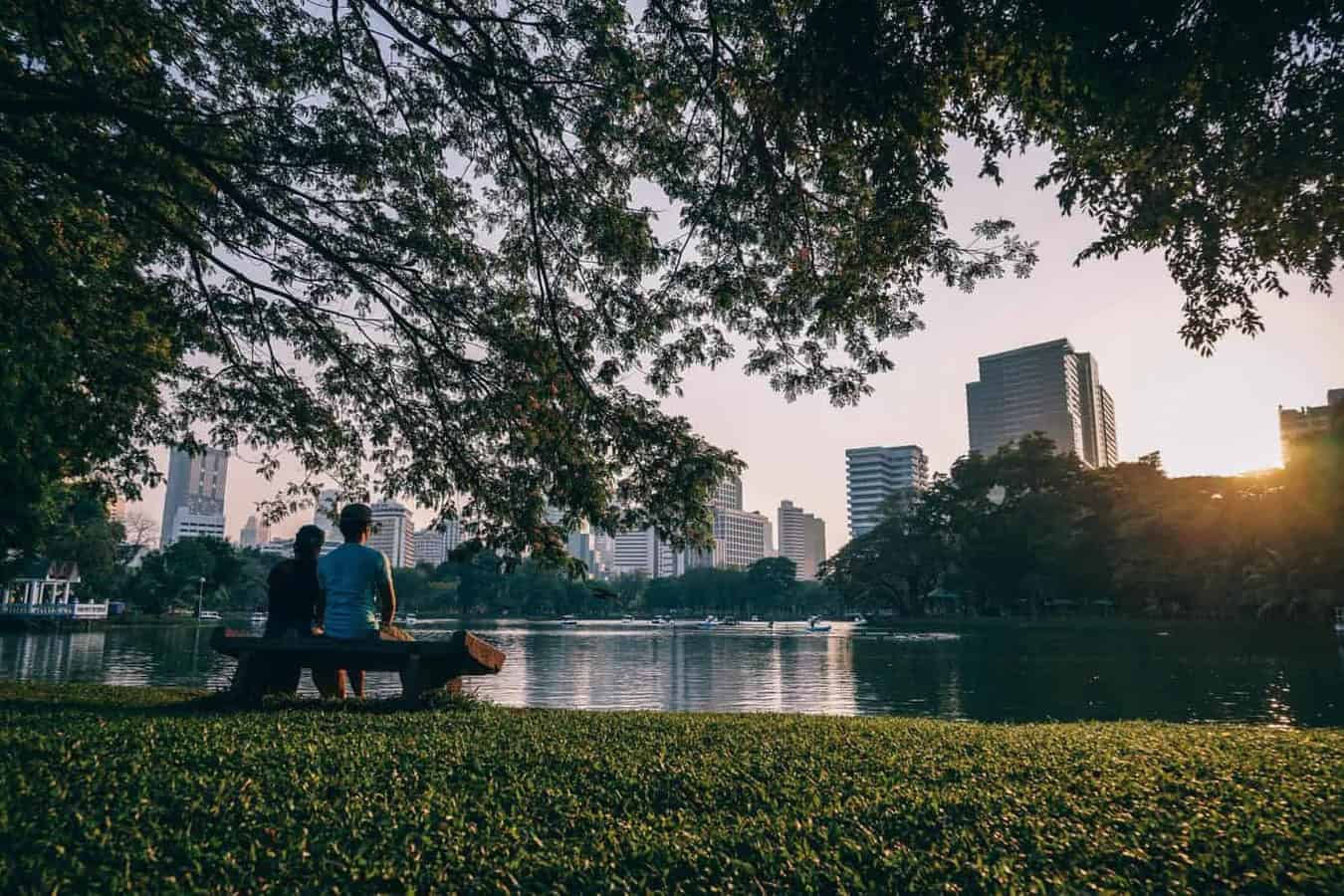 City parks lift mood as much as Christmas, Twitter study shows