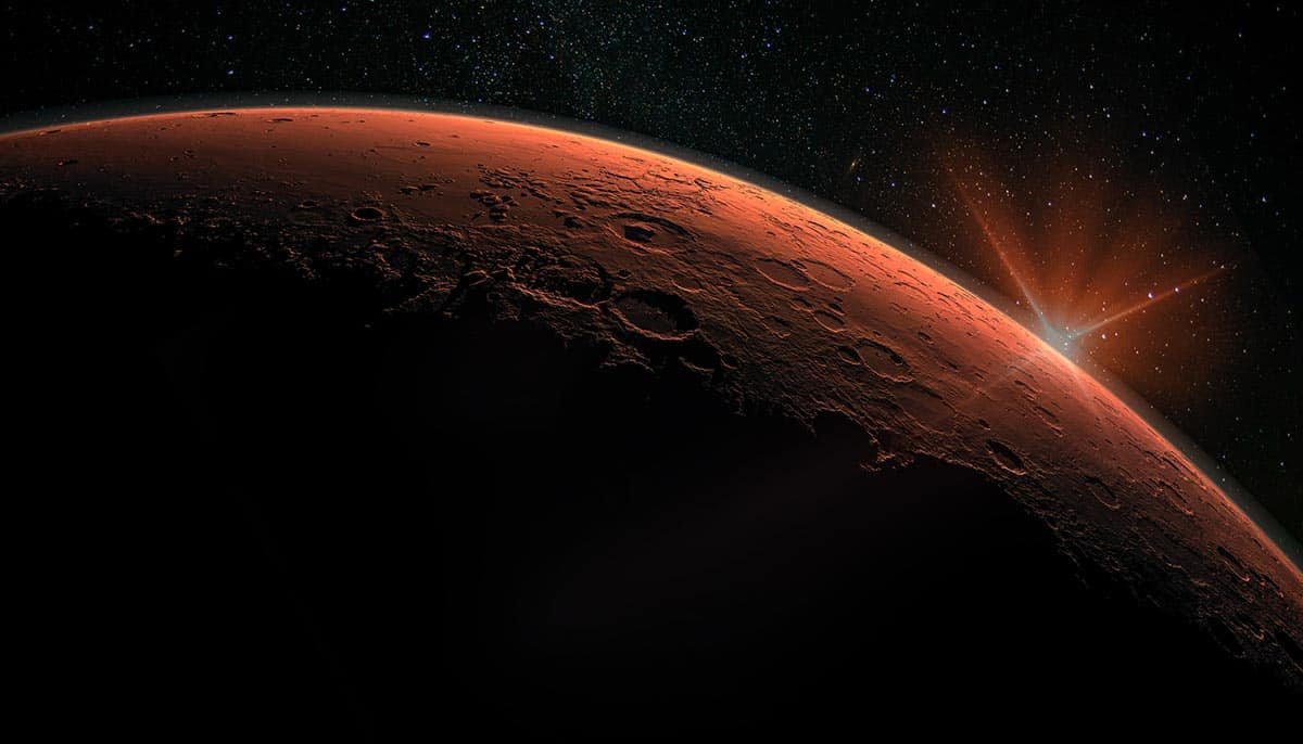 Methane not released by wind on Mars, experts find