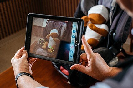 Researchers look at safety of car seat installation with virtual help