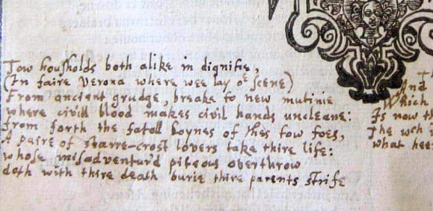 Shakespeare's mystery annotator identified as John Milton