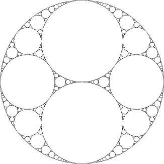 Apollonische Kreise und Zahlentheorie