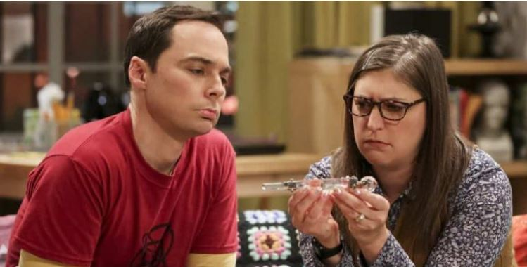 the big bang theory The Wedding Gift Wormhole