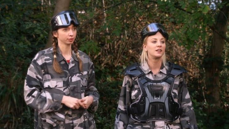 the big bang theory the paintball scattering