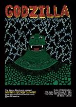 Godzilla by Daniel Huntley