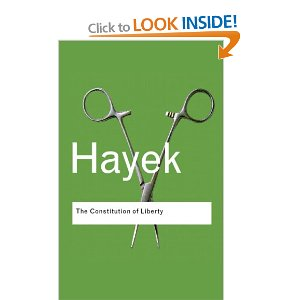 Hayek Constitution of Liberty