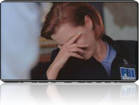 scully facepalm