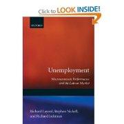 Unemployment Layard Nickell