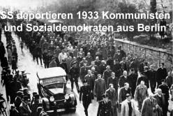 SS deportiert Sozialdemokraten