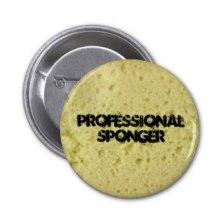Professional sponger