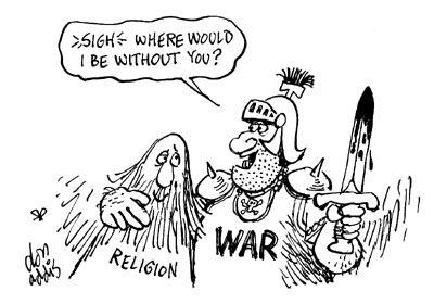 Pazifismus muss man sich leisten können