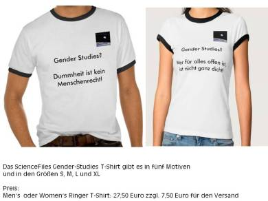 Gender Studies T Shirt