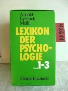 Lexikon Psychologie