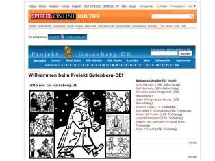 Spiegel Gutenberg