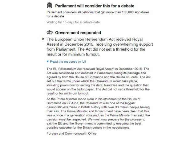 Petition 2nd referendum