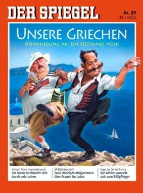 Spiegel 2015 unsere Griechen