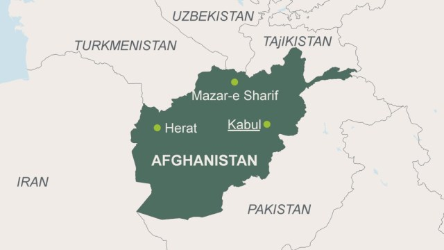 Afghanistan-Map – ScienceFiles