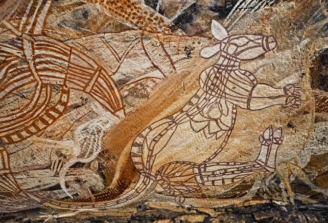 Prehistoric art Australia