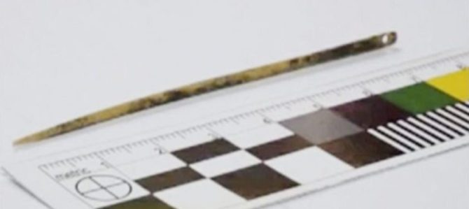 Oldest needle Denisovan tool