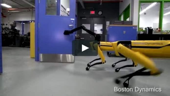 Latest video released by Boston Dynamics shows its robot dogs pulling a truck
