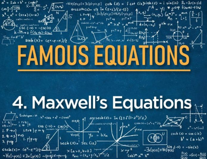 #4 Maxwell's Equations – The equations behind major modern technologies