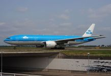 KLM Royal Dutch Airlines Boeing 777