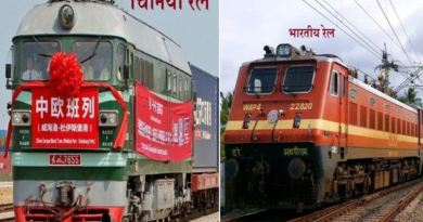Chinese and Indian Rail