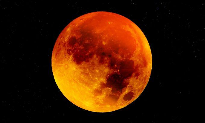 खग्रास चन्द्रग्रहण
