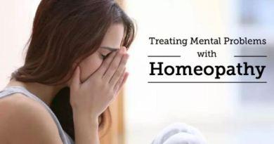 होम्योपैथीक औषधि र मानसिक रोग