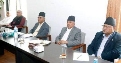 नेपाली काँग्रेसका शीर्षस्थ नेताहरु