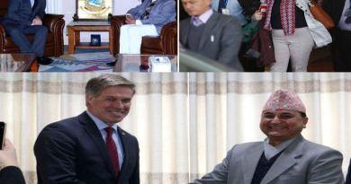 विदेशी मन्त्रीहरुको नेपाल भ्रमण