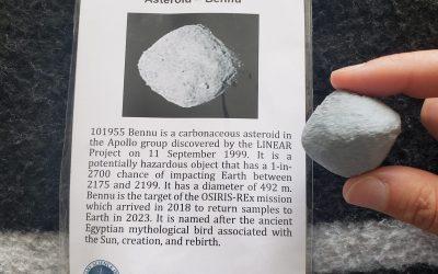 Asteroid Bennu – October 21, 2020