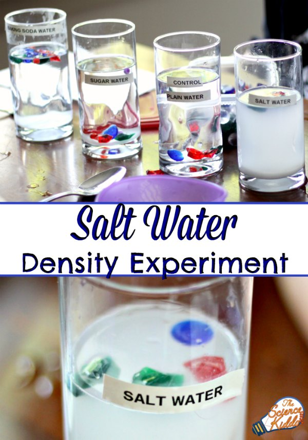 Salt Water Experiment Ocean Science For Kids • The Science Kiddo