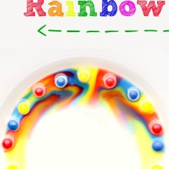Kitchen Science Cheap Backsplash Tile 16 Almost Free Experiments For Kids Kiddo Making A Skittles Rainbow Is Quick And Easy Experiment That Will Thrill The