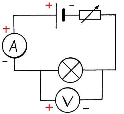 Lamp resistance circuit diagram