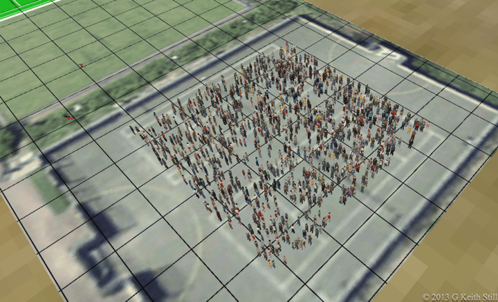 One and a half people per square meter