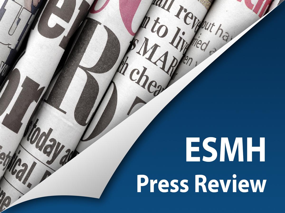 ESMH Press Review banner
