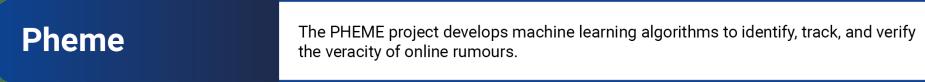 Pheme EU initiative tool to fight disinformation