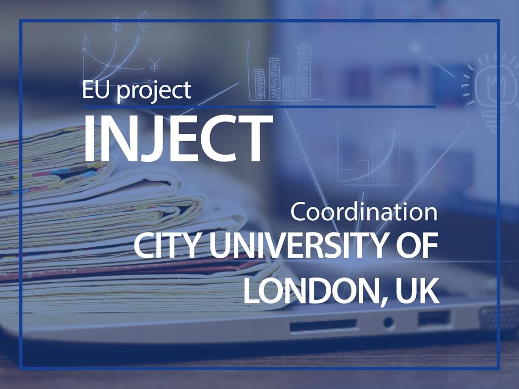 INJECT coordinated by City university of London, UK