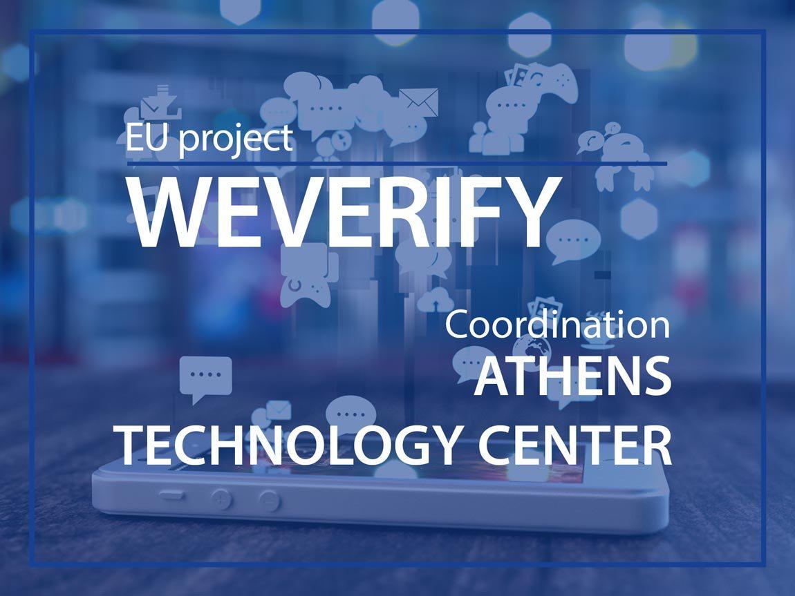 EU Project WEVERIFY ESMH
