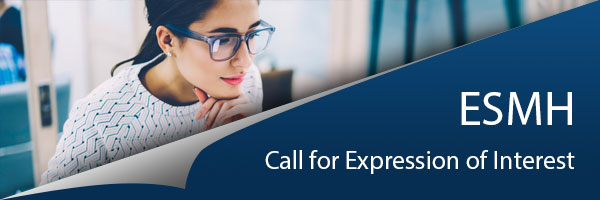 ESMH Call for expression of interest